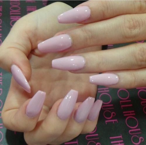 Baby Pink Nails | www.imgkid.com - The Image Kid Has It!
