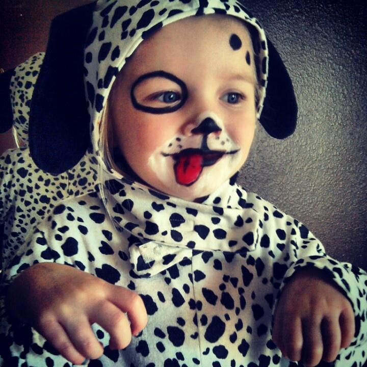 Puppy face paint