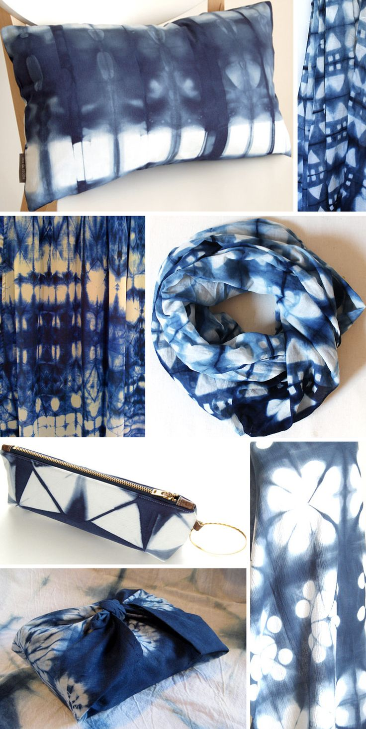 By Thread -Japanese textiles by Susan  /  4d  //  preview Blues & Shibori        Textiles All these blues….and shibori to boot.  It's what makes the pattern and the statement.   Shibori & Indigo – Pattern Observer  It's about pattern – Surface Design and so much more.