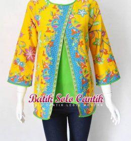 49 best batik kombinasi images on Pinterest  Batik dress Batik