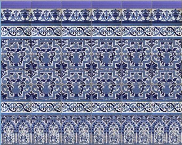 17 best images about azulejos artesanales on pinterest for Azulejos artesanales