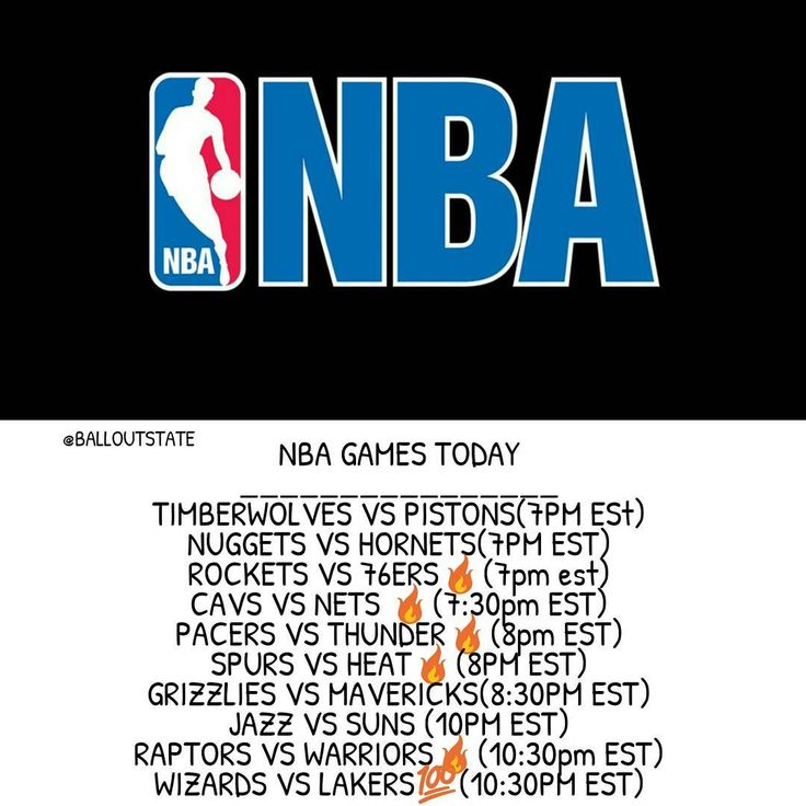 NBA Games Today! (Key-Game To Watch|-Game Of the Night) - Tags: #Lakers #LonzoBall #lebronjames #cavs #warriors #okcthunder #thunder #pacers #wizards #jazz #suns #grizzlies #raptors #mavericks #nuggets #hornets #pistons #timberwolves #nets #rockets #76ers #sixers #spurs #heat #miamiheat