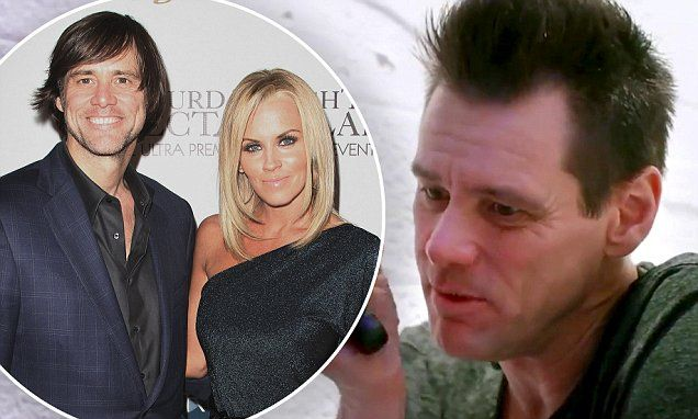 Jim Carrey says art healed him after Jenny McCarthy split | Daily Mail Online