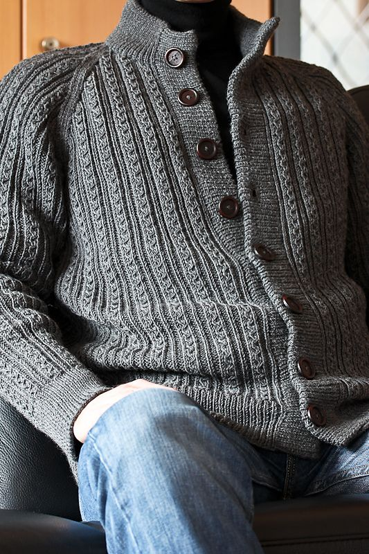 Ravelry: Project Gallery for S6917 A Herrenjacke mit Fantasierippen pattern by Heidi Zuschke, Ursula Marxer, Melanie Marxer, Manuela Seitter, Tanja Steinbach, Stephanie van der Linden