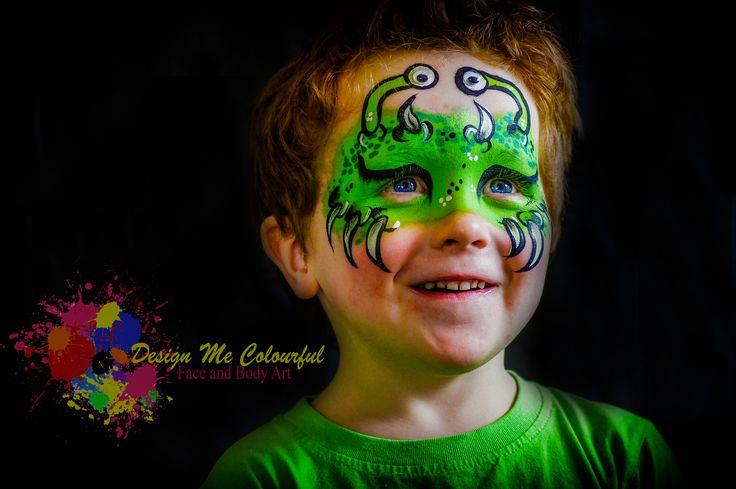 Boys Face Art, Face Painting