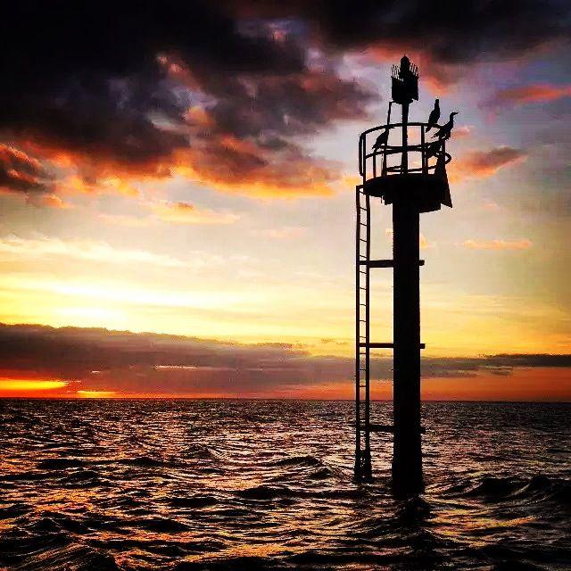 Weipa channel marker. #SaltwaterFlyFishing