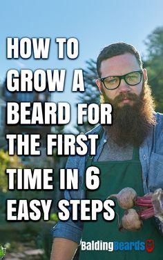 https://www.baldingbeards.com/how-to-grow-a-beard/ #grow #beard