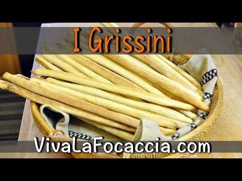 Video Ricetta Grissini Fatti in Casa - VivaLaFocaccia - Le Ricette Semplici per il Pane in Casa