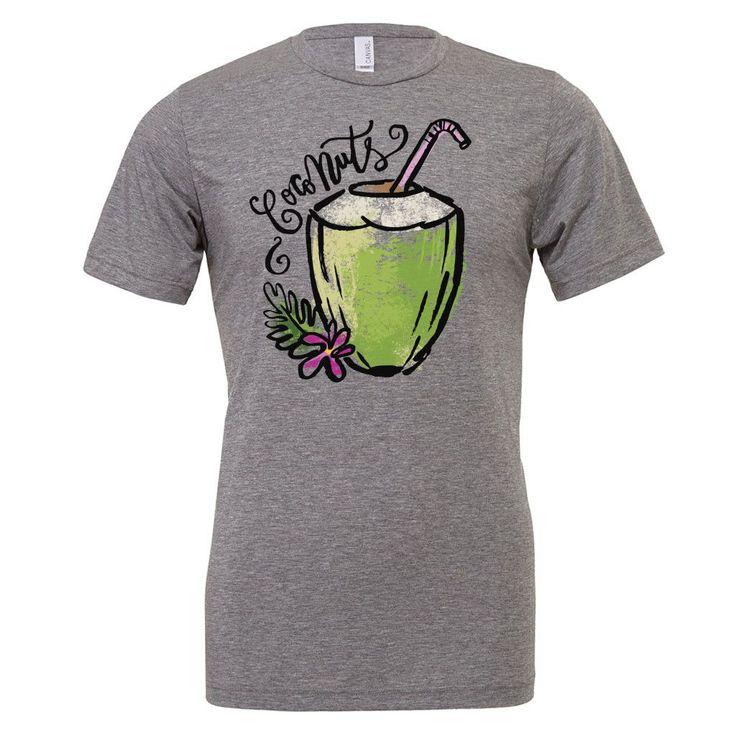 Vegan Clothing - Vegan Shirt - Coconuts