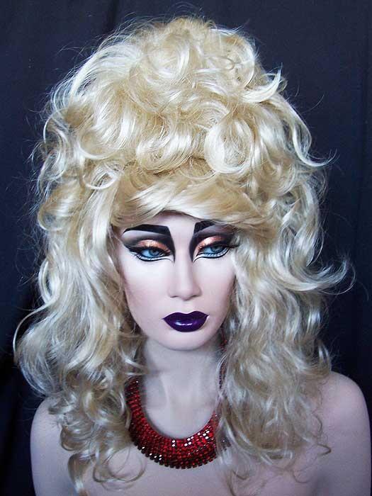 Wig: Nirvana Julienne Drag Wig, Golden Blonde | Drag Queen ...