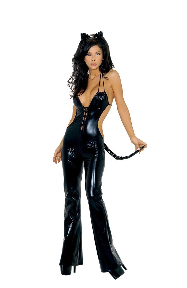Be Feisty Feline Costume Includes Catsuit, Tail, And Ears. Shop this now YourLaMode #sexy #animal #costumes #women #clothing