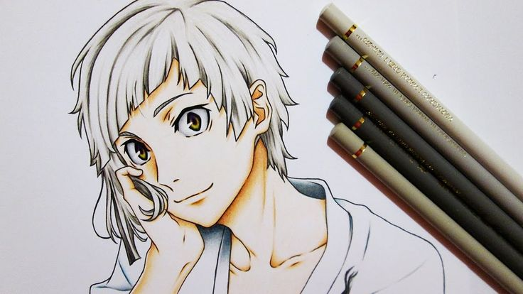 Drawing Atsushi Nakajima || Bungou Stray Dogs 文豪ストレイドッグス