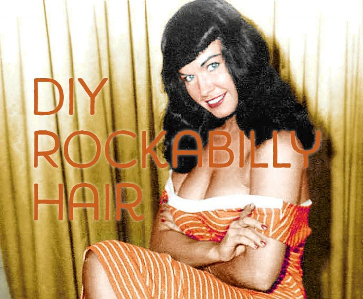 You have the rockabilly clothes, the rockabilly tunes, and the rockabilly attitude, but you need the rockabilly hair! In this hub, I will give you instructions and tips on how to do your hair in different women's rockabilly hairstyles. We will use some of our most favorite rockabilly and pin-up models as guides and muses for this rockabilly hairstyle tutorial.