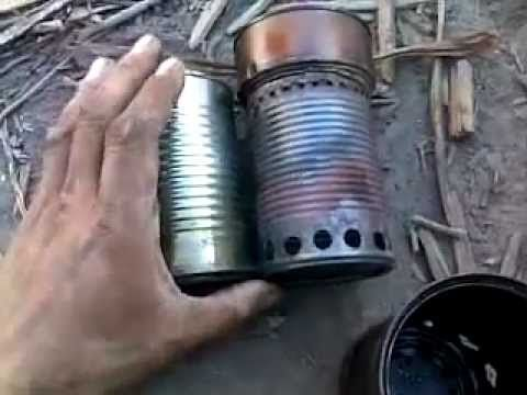 "Wood gas camp stove ""how to"""