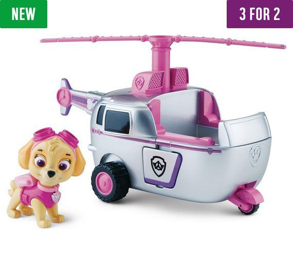 Buy PAW Patrol Skye and Skye's High Flyin' Copter at Argos.co.uk, visit Argos.co.uk to shop online for Action figures and playsets, Toys