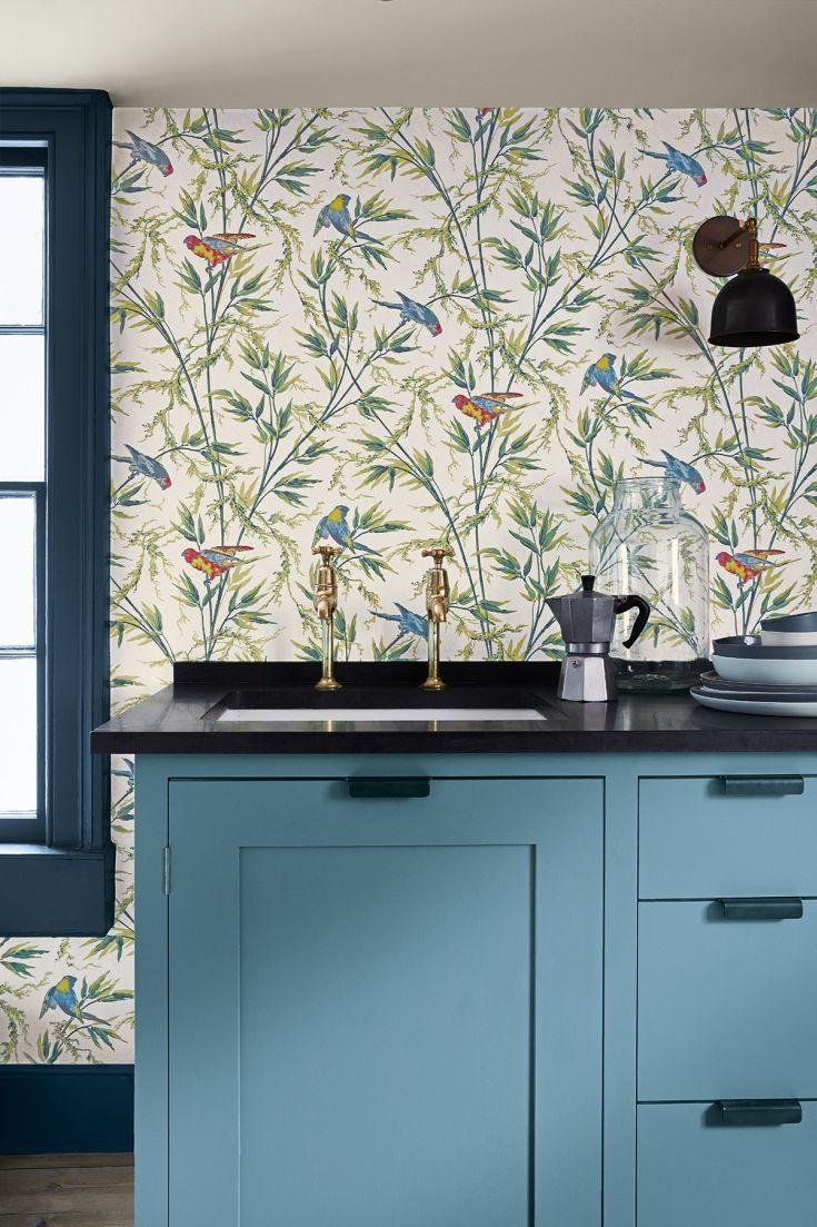 45 best Kitchen wallpaper ideas images on Pinterest | Wallpaper ...