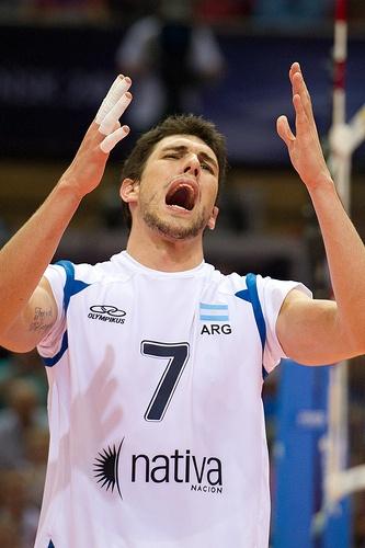 Facundo Conte of Argentina Volleyball Team Fot. Mariusz Pałczyński / http://www.facebook.com/MariuszPalczynskiPhotography #volleyball #sportspeople
