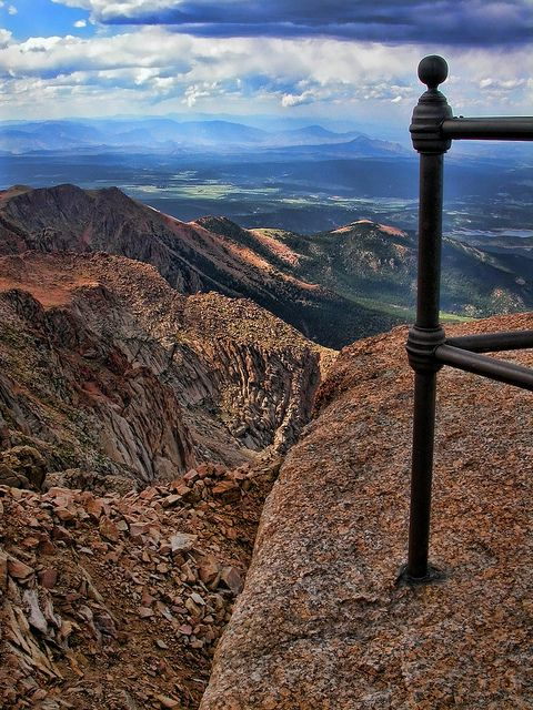 Pikes Peak Summit, Pike National Forest, Colorado Springs, Colorado