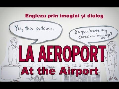 Sa invatam engleza - LA AEROPORT (At the Airport) - Let's learn English!