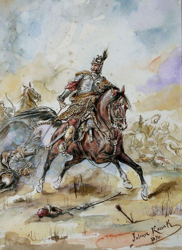 Battle Scene - Juliusz Kossak