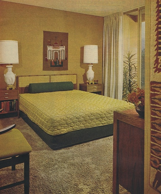 117 Best 1970s Bedroom Images On Pinterest