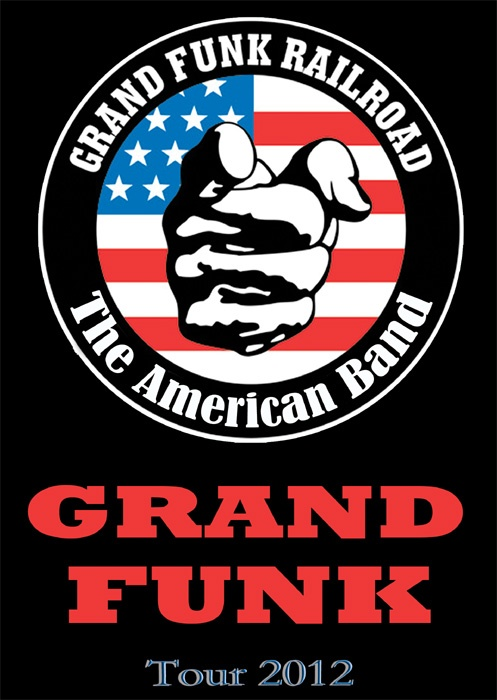 Grand Funk Railroad (also known as Grand Funk) is an American rock band that was highly popular during the 1970s. Grand Funk Railroad toured constantly to packed arenas worldwide. The band's name is a play on words of the Grand Trunk Railroad, a railroad line that ran through the band's home town of Flint, Michigan.