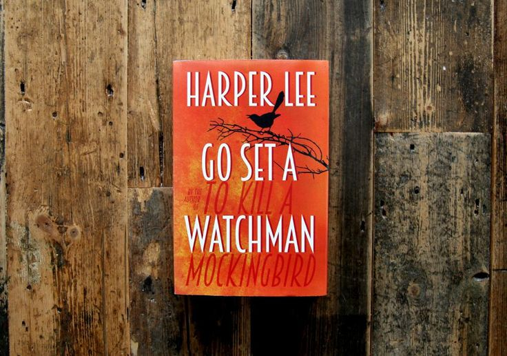 The cover of Harper Lee's Go Set a Watchman has been revealed. Available 14th July 2015.