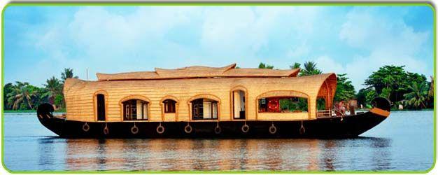 boat house in kerala..