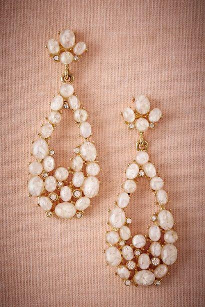 BHLDN Promenade Chandelier Earrings in  Bride Bridal Jewelry at BHLDN
