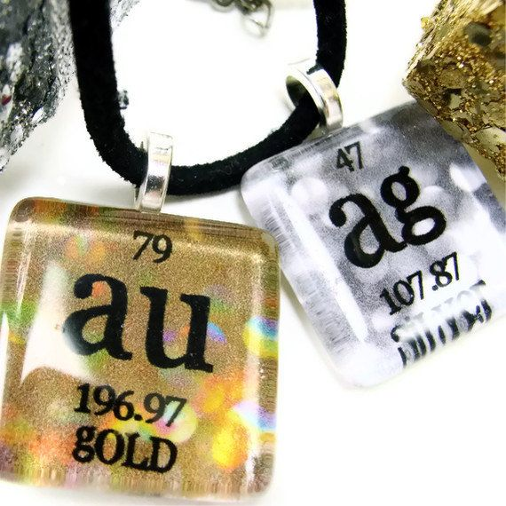 35 best geeky grad gifts images on pinterest grad gifts chemistry chemistry jewelry periodic table science necklace by shopgibberish 2200 urtaz Image collections