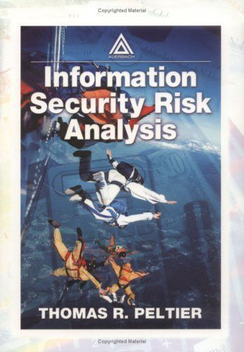Information Security Risk Analysis by THOMAS R. PELTIER. $27.52. 296 pages. Publisher: Taylor & Francis; 1 edition (April 16, 2007) http://www.tykans.com