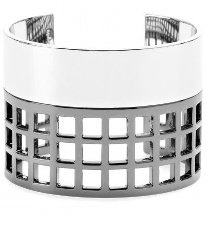 #ReedKrakoff - MACHINE NARROW CUFF BRACELET