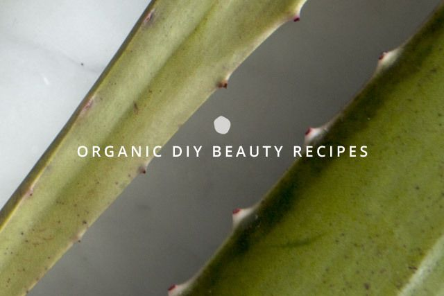Prepare Your Own #Organic Skincare Products!  6 Organic DIY Beauty Recipes