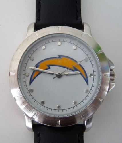NFL San Diego Chargers Player Series Adult Watch Time Piece Clock New | eBay