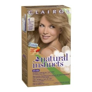 Clairol Natural Instincts Hair Color 06, Linen, Medium Cool Blonde 1 Kit (Pack of 3) (Health and Beauty)  http://www.1-in-30.com/crt.php?p=B001E5EBXC  B001E5EBXC