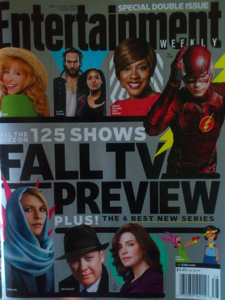 Entertainment Weekly Fall TV Preview Edition