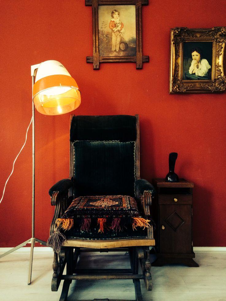 Flamingo Blow Dryer Lamp by Briight Vintage&Bulbs