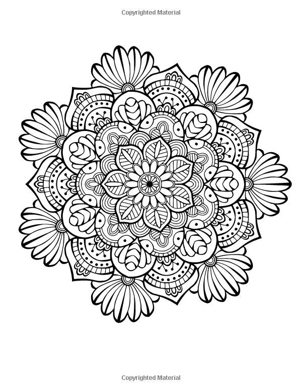 Mandala colouring book for adults - Relax & Dream with beautiful ...