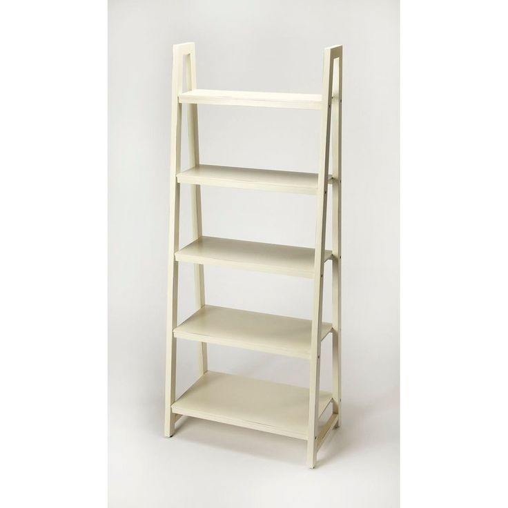Stallings White Bookcase