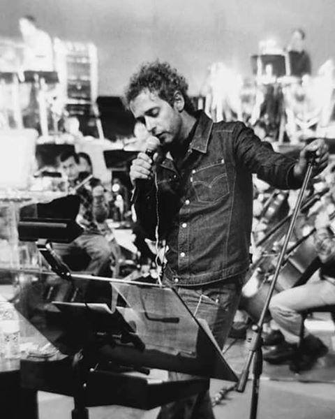 """Ensayo para 11 Episodios Sinfónicos. #Cerati Ciudad de México, año 2002. © Fernando Aceves."""""""
