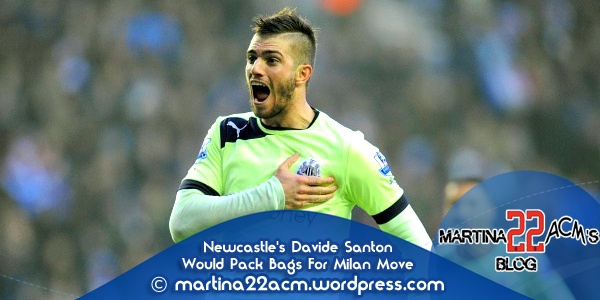 Newcastle Defender Davide Santon Would Pack Bags For Milan Move