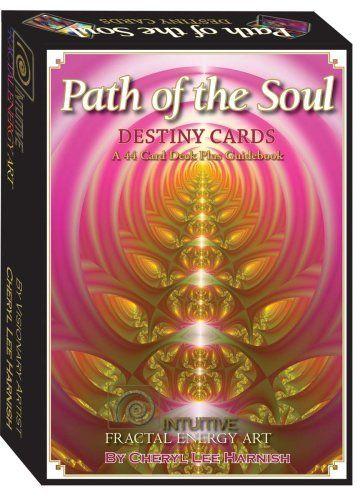 Path of the Soul, Destiny Cards by Cheryl Lee Harnish, http://www.tarot.nl/orakelkaarten/affirmatiekaarten/de-weg-van-de-ziel-fractal-energie-detail.html