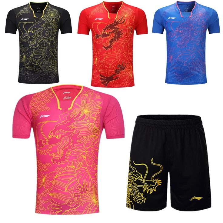 $22.50 (Buy here: https://alitems.com/g/1e8d114494ebda23ff8b16525dc3e8/?i=5&ulp=https%3A%2F%2Fwww.aliexpress.com%2Fitem%2F2016-Rio-Olympics-Lining-table-tennis-service-Tshirt-Shorts-men-and-women-s-shirt-Dragon%2F32707098819.html ) 2016 Rio Olympics Lining table tennis service  ( Tshirt + Shorts) men and women's shirt Dragon. for just $22.50