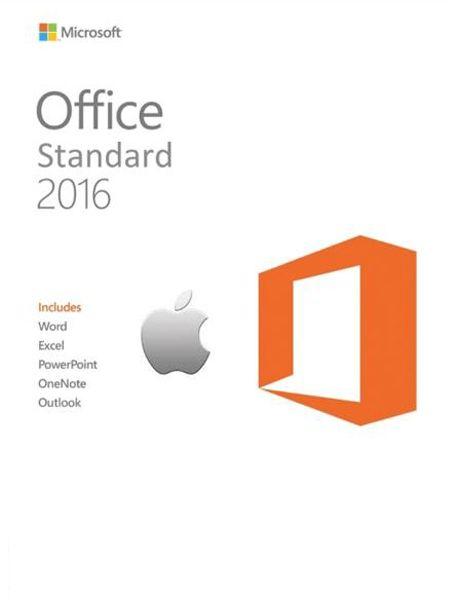 Microsoft Office Standard 2016 Volume License v15.26 Cracked Free Mac OS Software