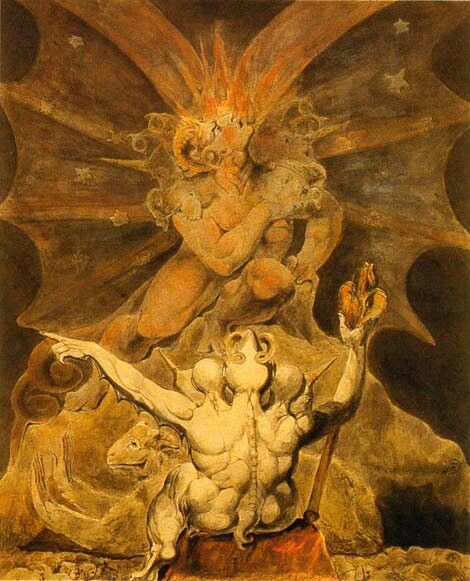 William Blake (1757-1827). El número de la bestia