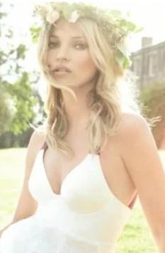 Kate Moss Wedding Vogue Magazine Nuff Said