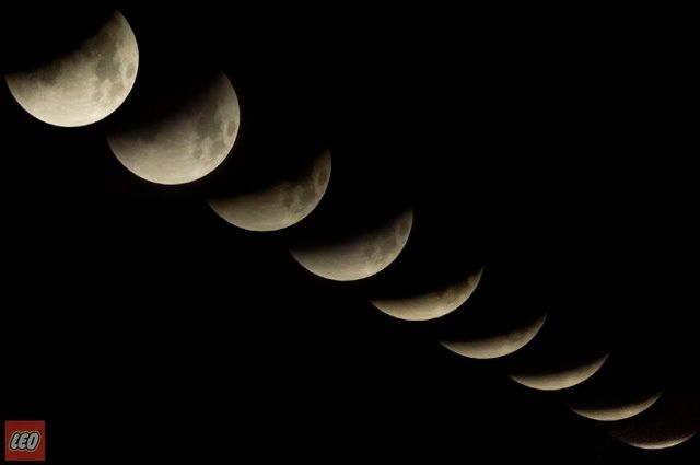 Luna Roja 3:40 am.