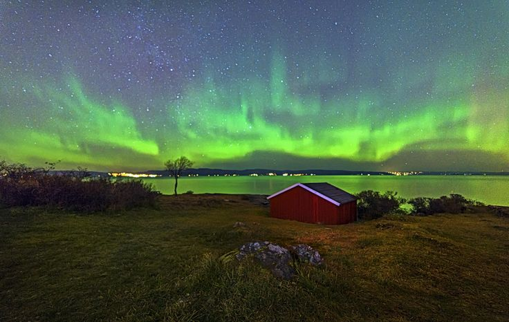 Aurora in Trondheim Djupvika, Norway by Aziz Nasuti on 500px