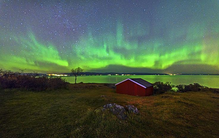 Aurora in Trondheim Djupvika, Norway by Aziz Nasuti on 500px
