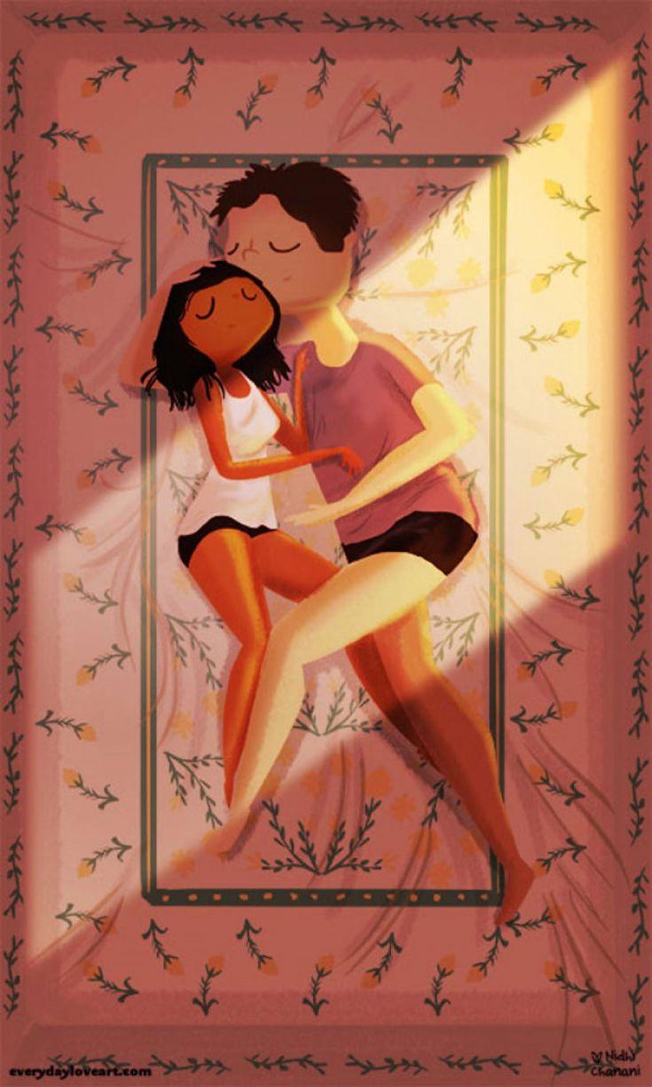 De mignonnes illustrations nous montrent que l'essentiel des relations se trouve dans les petites attentions | Buzzly